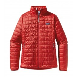 Patagonia Nano Puff jack dames Cochineal red