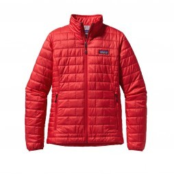 Patagonia Nano Puff jack dames French red