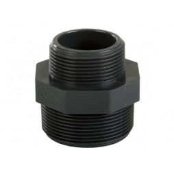 PVC schroefkoppeling 50-63 mm
