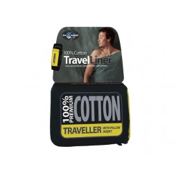 Premium Cotton Liner Traveller lakenzak