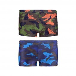 Shiwi Jungle Camo Boxer zwembroek junior alle