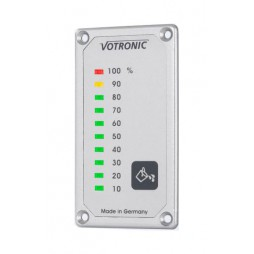 LED display vuilwatertankmeter