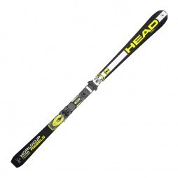 Head WC Rebels i.GSR TFB ski's black yellow