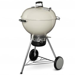 Weber Master-Touch GBS System Edition houtskoolbarbecue ivory