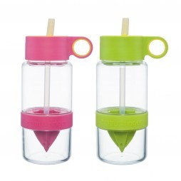 Citrus Zinger Mini waterfles met citruspers