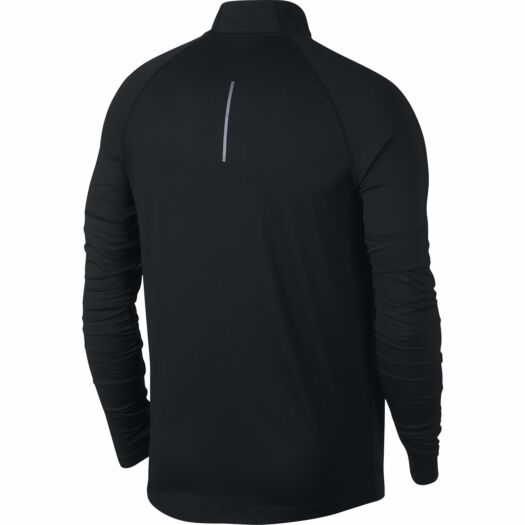 Nike Element Longsleeve hardloopshirt heren black