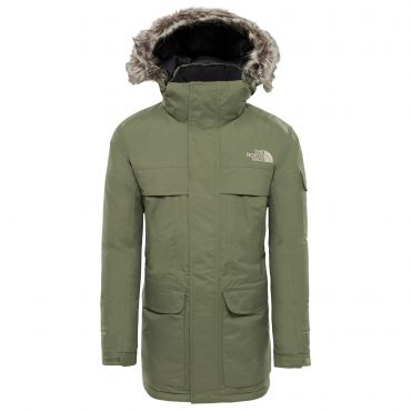 Winterjas Heren Parka.The North Face Mcmurdo Parka Winterjas Heren Four Leaf Clover De Wit