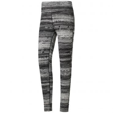 d2d48acef6b Reebok Lux Striped sportlegging dames black De Wit Schijndel