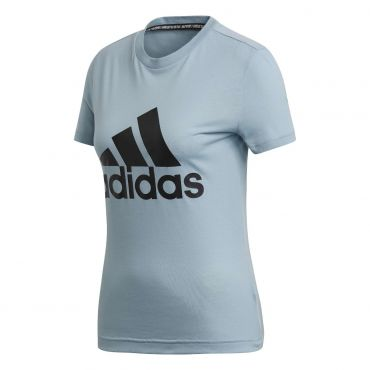 d73460a0e45 adidas Must Haves Badge Of Sport shirt dames ash grey De Wit Schijndel