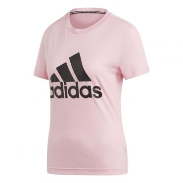 05b69f0e271 adidas Must Haves Badge Of Sport shirt dames true pink De Wit Schijndel