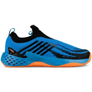 k-swiss aero knit 06137 tennisschoenen heren brilliant blue neon