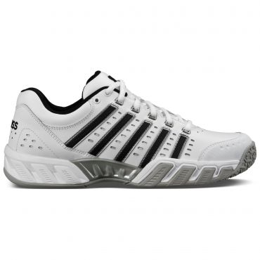 k-swiss bigshot light ltr omni 05369 tennisschoenen heren white de