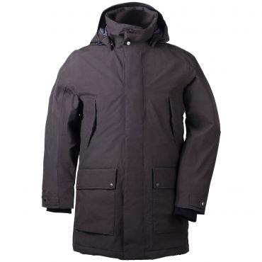 Winterjas Heren Parka.Didriksons Ture Parka Winterjas Heren Chocolate Brown De Wit Schijndel