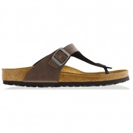 birkenstock gizeh slippers dames pull up brown