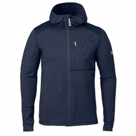 fjallraven keb fleece vest heren storm night sky