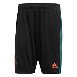 adidas ajax trainingsshort black tech green
