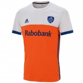 adidas knhb tee home hockey shirt heren oranje wit