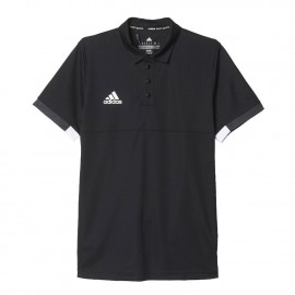 adidas t16 team poloshirt heren black