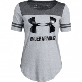 7769bd125f3 Under Armour Ottoman Baseball shirt dames grey