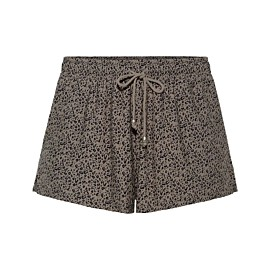 beachlife cheetah short dames