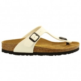 birkenstock gizeh slippers dames white