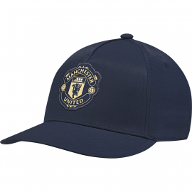 adidas manchester united pet heren collegiate navy/matte gold