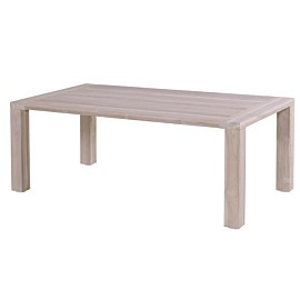hartman sophie element tuintafel 180 x 100 teak light grey