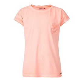 petrol shirt junior fiery coral