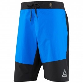 reebok epic endure short fitnessbroek kort heren vital blue