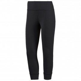 reebok lux 3/4 legging fitnessbroek dames black