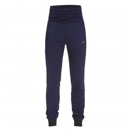 rohnisch namaste pants fitnessbroek lang dames indigo night