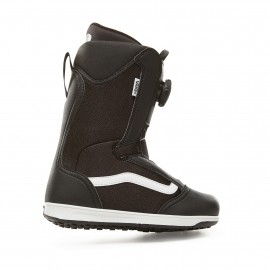 vans uy juvie snowboardschoenen junior black white