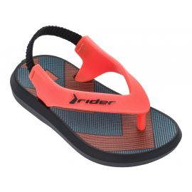 Rider R1 Baby sandalen junior black orange
