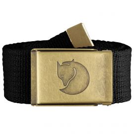 Fjällräven Canvas Brass riem black