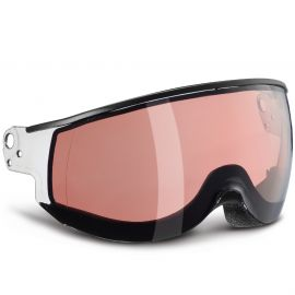 KASK Piuma Visor Double smoke pink photochromic