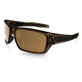 Oakley Turbine Dark Bronze zonnebril heren brown smoke