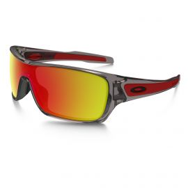 Oakley Turbine Rotor Ruby Iridium zonnebril heren gray ink