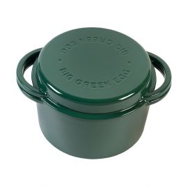 Big Green Egg gietijzeren dutch oven rond