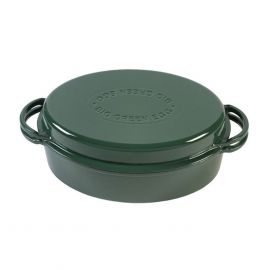 Big Green Egg gietijzeren dutch oven ovaal