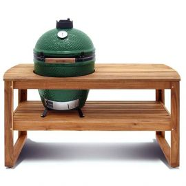 Big Green Egg acacia tafel