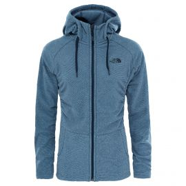 The North Face Mezzaluna fleece vest dames urban navy stripe
