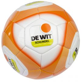 De Wit Voetbal white orange