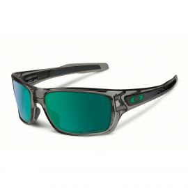 Oakley Turbine Jade Iridium Polarized zonnebril heren gray smoke