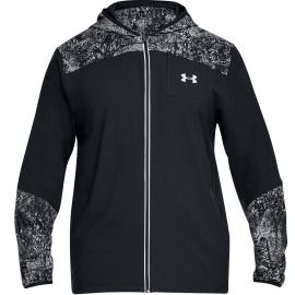Under Armour Storm printed sportjack heren black