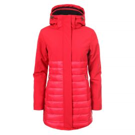 Luhta Bonita softshell winterjas dames classic red