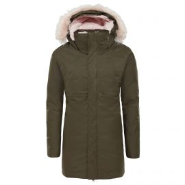 The North Face Arctic Swirl winterjas junior new taupe green