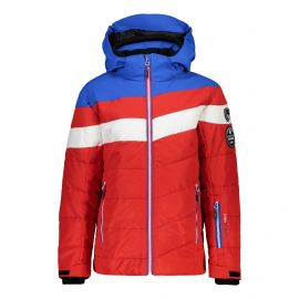 CMP Boy Jacket Snaps Hood 38W0314 winterjas junior ferrari