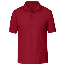 Fjällräven Crowley Piqué polo heren deep red