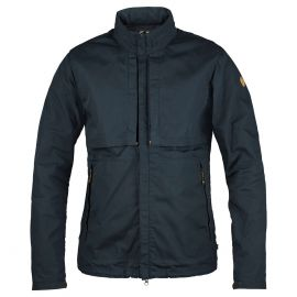 Fjällräven Travellers outdoor jack heren dark navy
