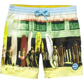 O'Neill PB Surfs Out Board Short zwembroek junior yellow aop white blue